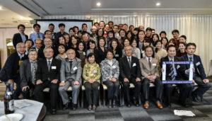 2016年の関東支部同窓会での集合写真