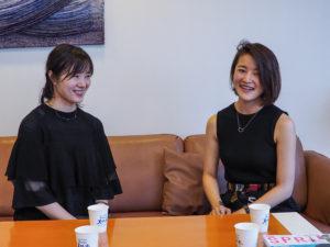 平澤彩さん(姉)と平澤梢さん(妹)2