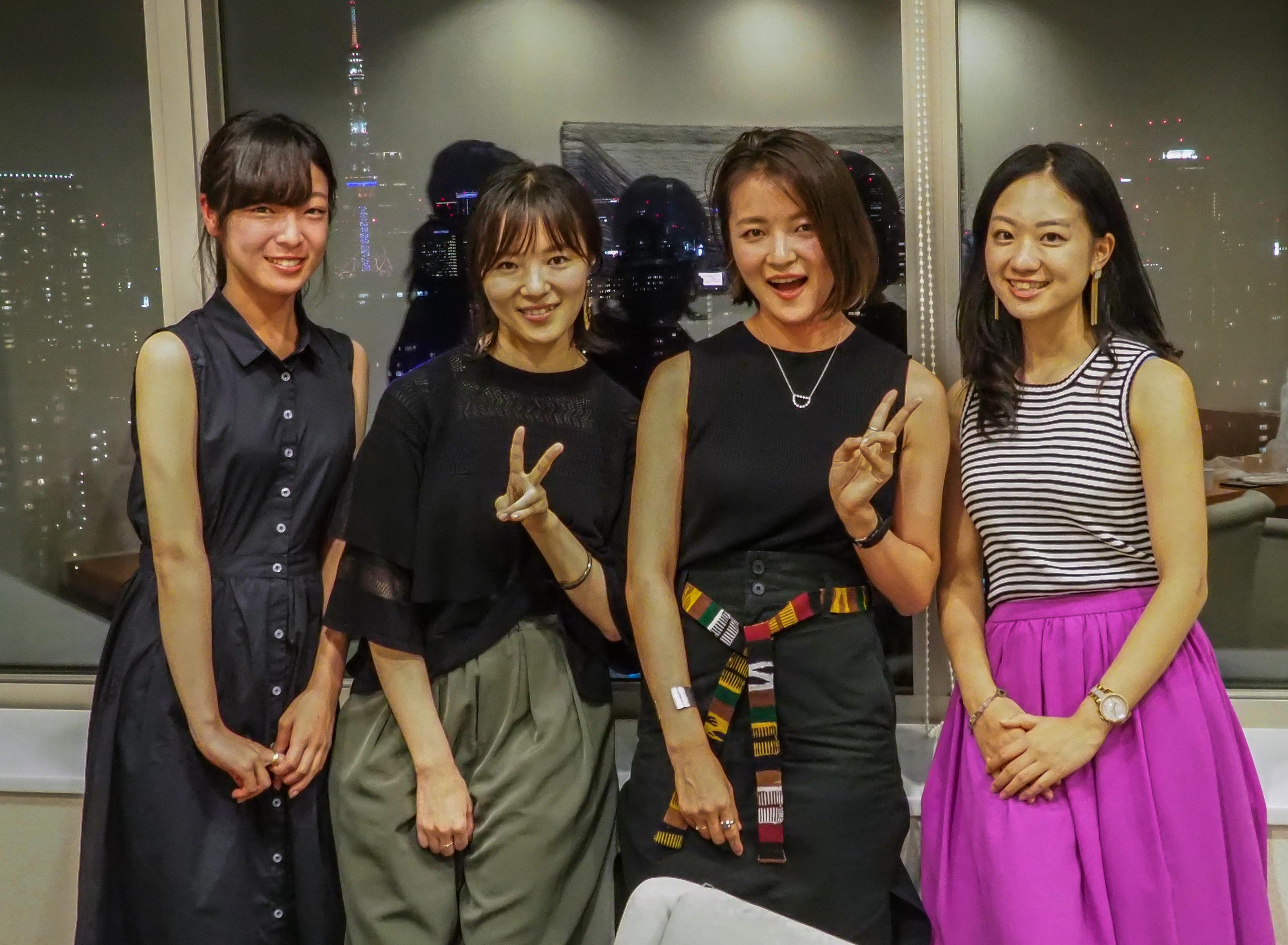 平澤彩さん(姉)と平澤梢さん(妹)4